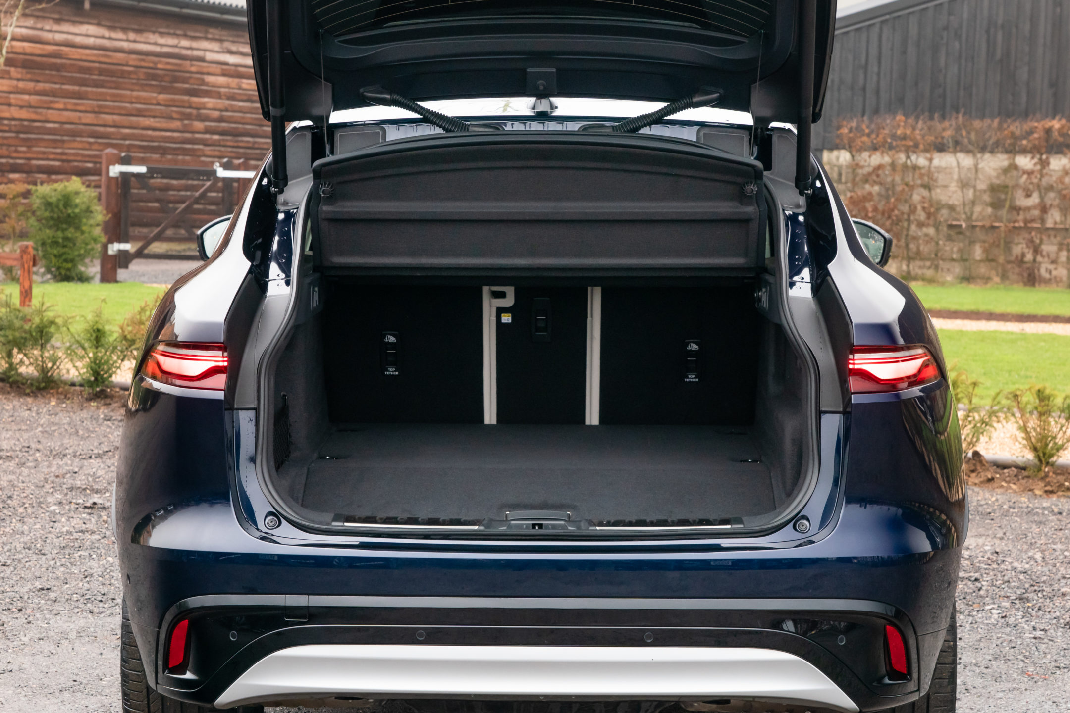 Jaguar F-PACE bagasjerom