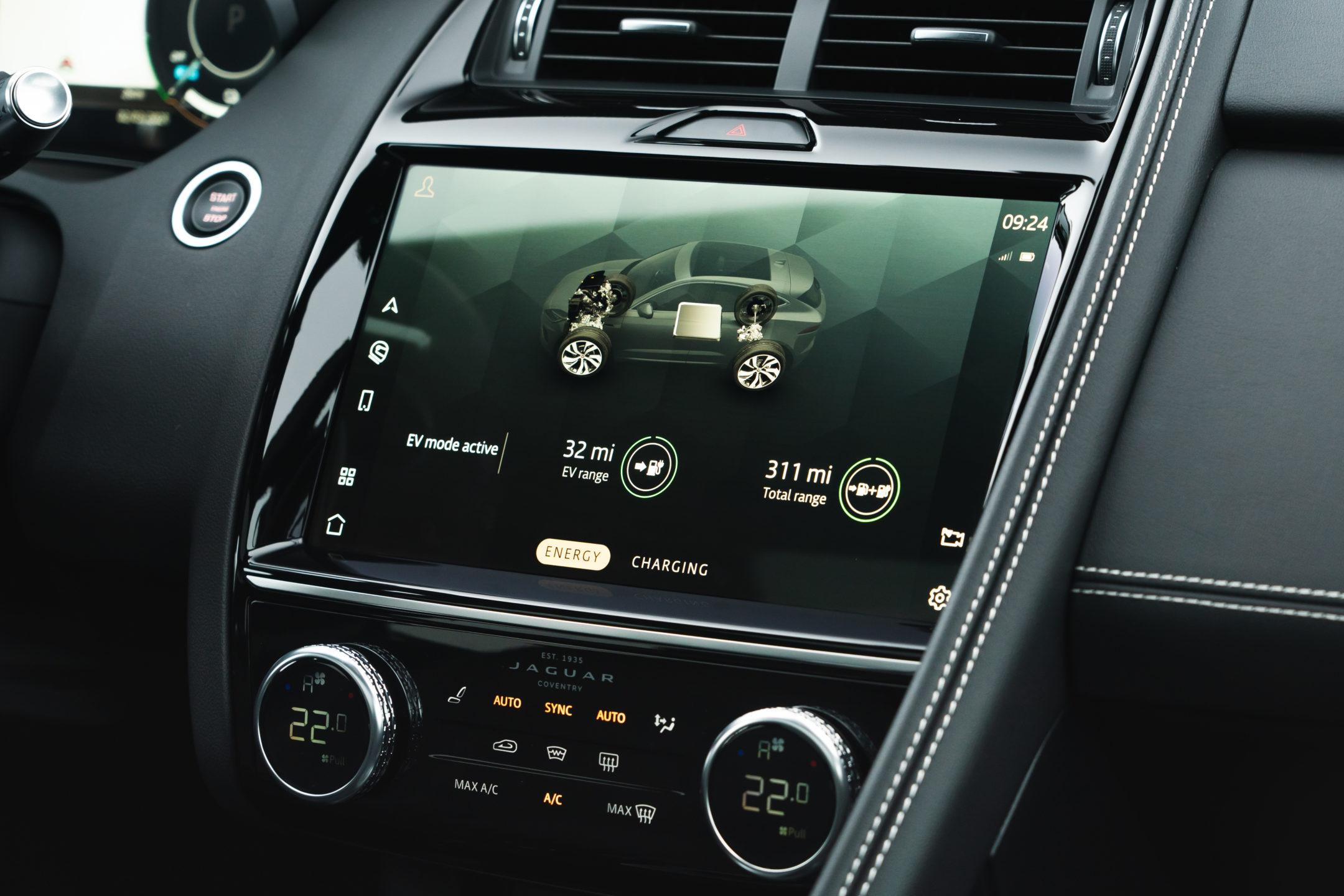 Jaguar E-PACE Pivi Pro