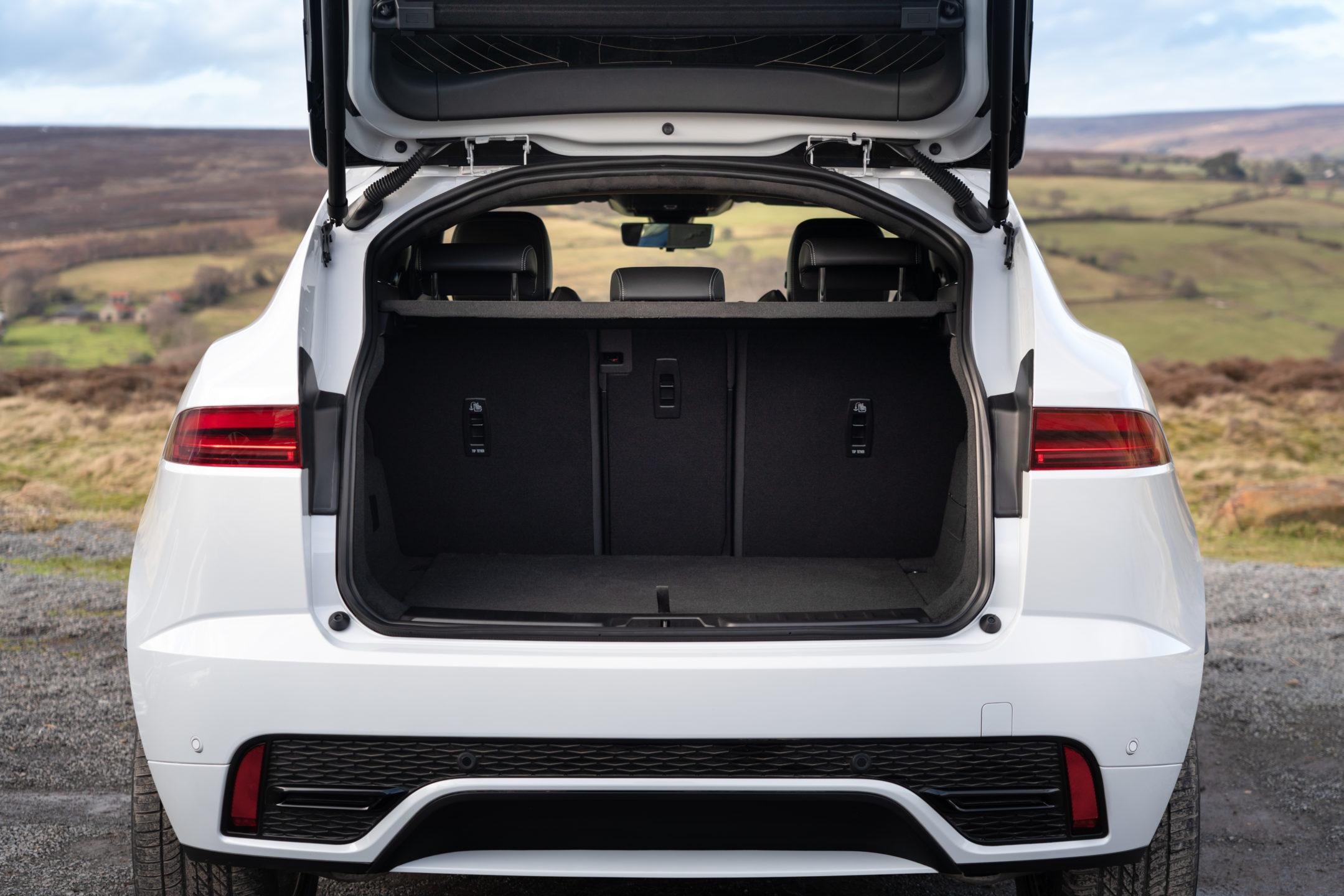 Jaguar E-PACE bagasjerom