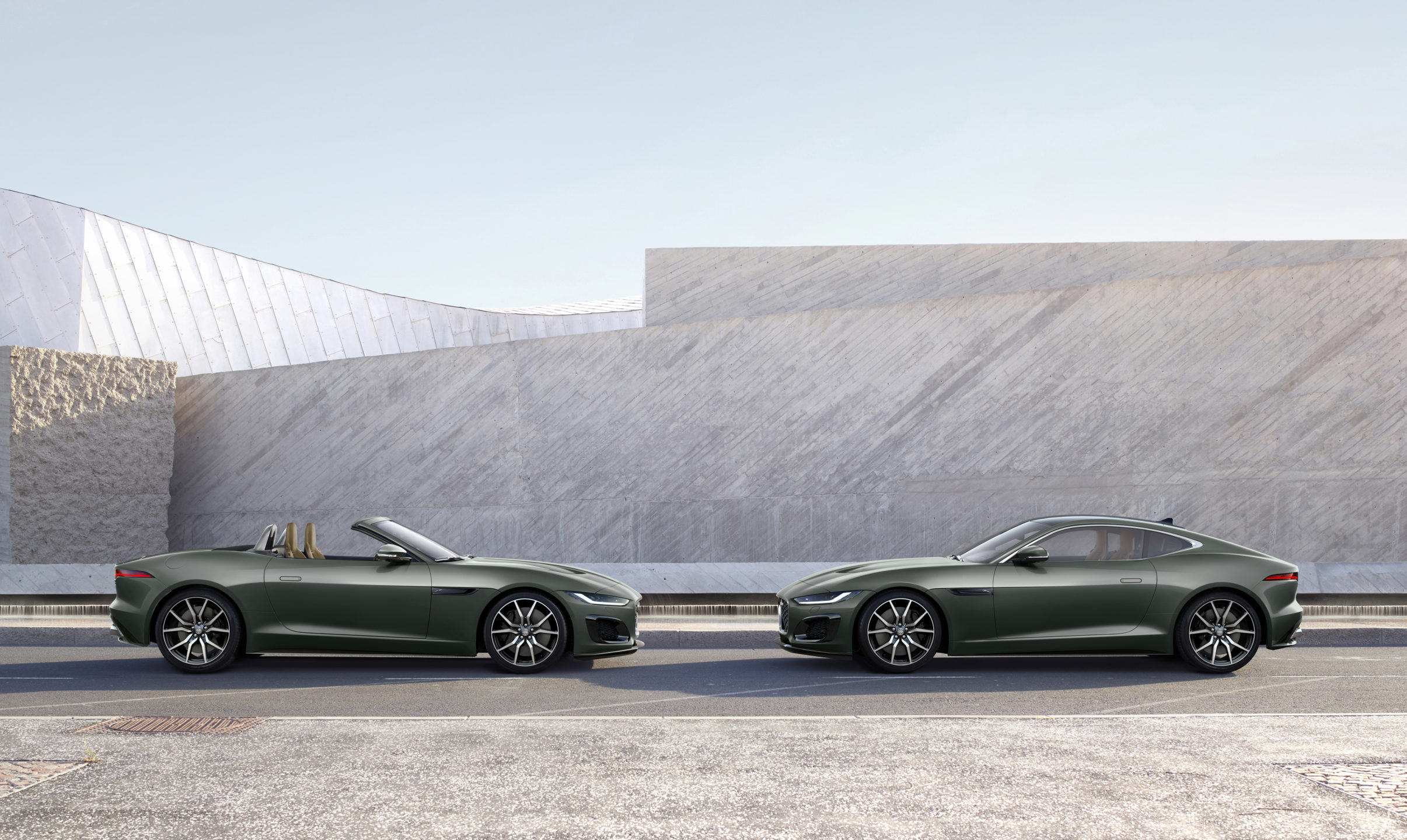 Jaguar F-TYPE og Jaguar E-TYPE