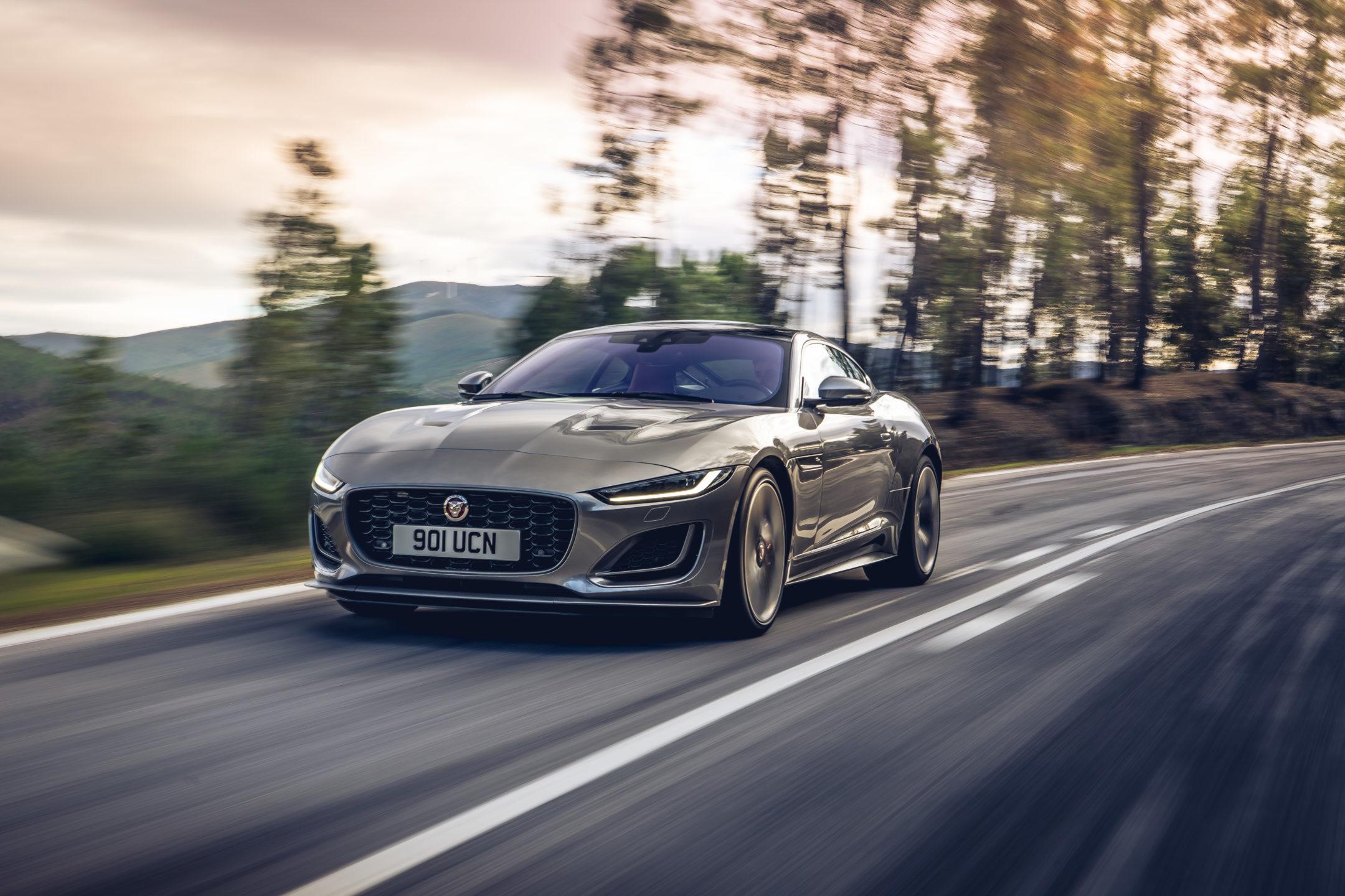 Jaguar F-TYPE Grey