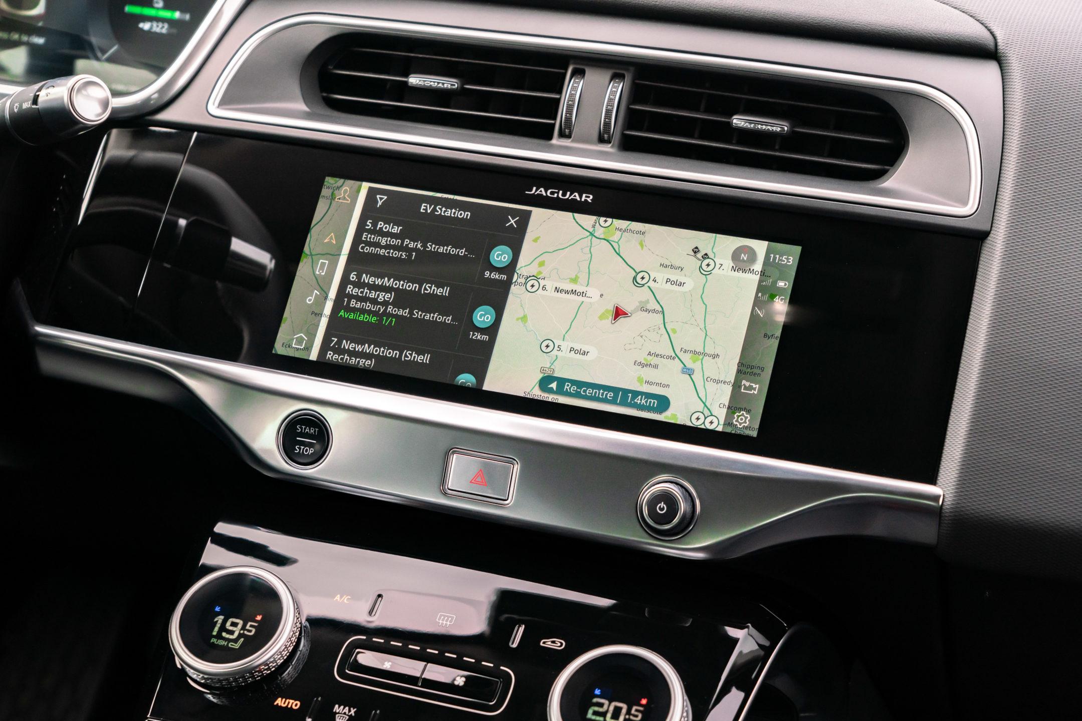 Jaguar I-PACE Infotainmentsystem
