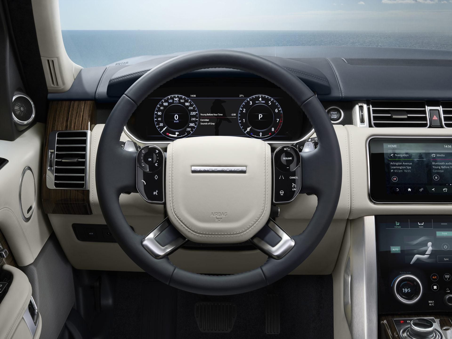Range Rover teknologi
