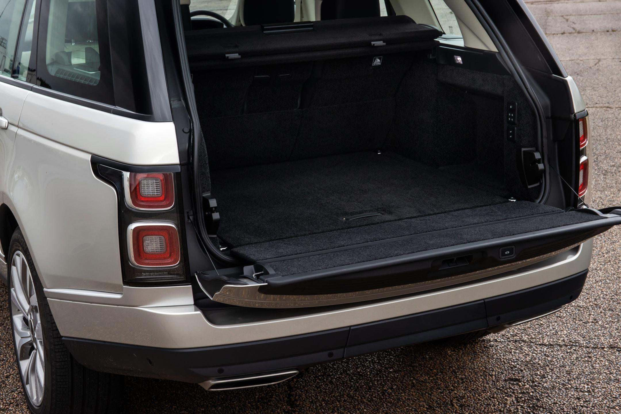 Bagasjerom Range Rover