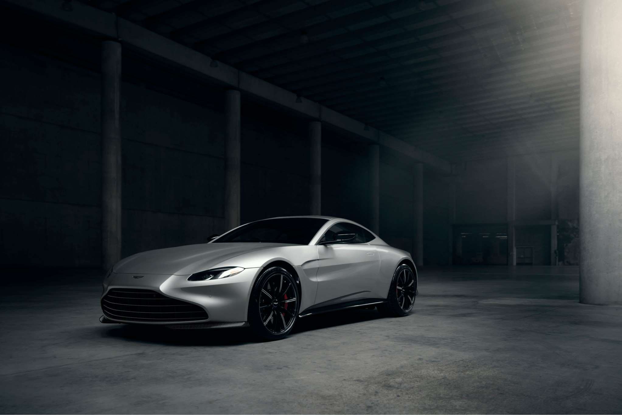 Vantage Coupe New Grille